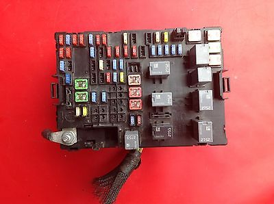 2007 2008 2009 SUZUKI XL-7 LUXURY Electronic Fuse Box Block Assembly ...
