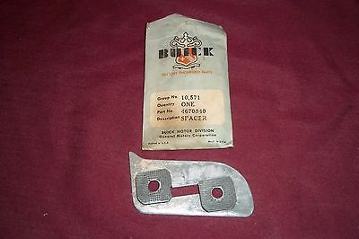 1955 1956 NOS Buick Super Roadmaster Door Lock Striker Spacer Left Hand 4670840