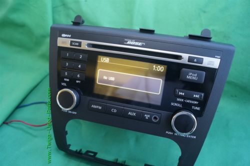 Nissan Altima Aux Bose Stereo Radio Receiver Cd Player PY05F 28185-ZX00A