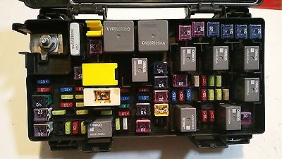 2012 jeep liberty 3 7l rwd fuse box block relay panel used. Black Bedroom Furniture Sets. Home Design Ideas