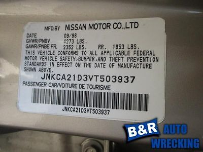95 96 97 98 99 00 01 02 03 NISSAN MAXIMA POWER STEERING PUMP 9104071 553-56899 9104071