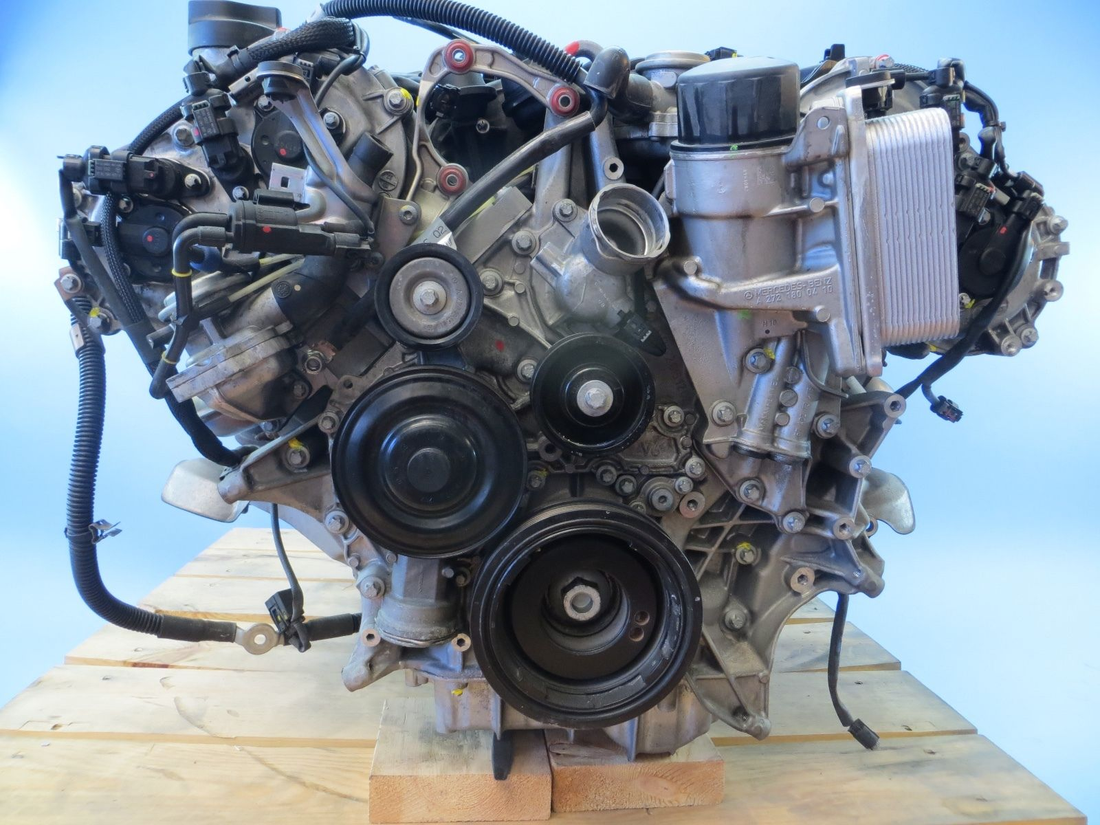 2010 mercedes benz e350 engine assembly v6 3 5l 50 199 for Mercedes benz 3 2 v6 engine