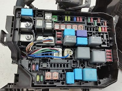 [DIAGRAM_5NL]  2014 2015 2016 TOYOTA COROLLA FUSE BOX BLOCK RELAY PANEL USED OEM #742 ,  Does not apply, 82662-02660 | 2016 Toyota Corolla Fuse Box |  | JustParts