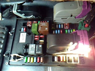 CORVETTE  2015 Fuse Box, Cabin 9521049
