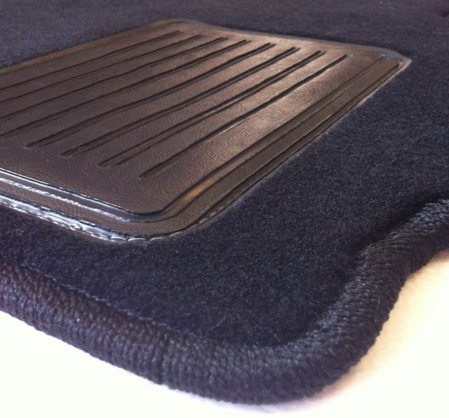 Bmw Z3 Custom Oem Spec 2 Piece Carpet Floor Mats With Monograms Amp Heel Pad