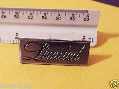 Genuine 1978-1979-1980 Buick Regal Limited Sail Panel Emblem