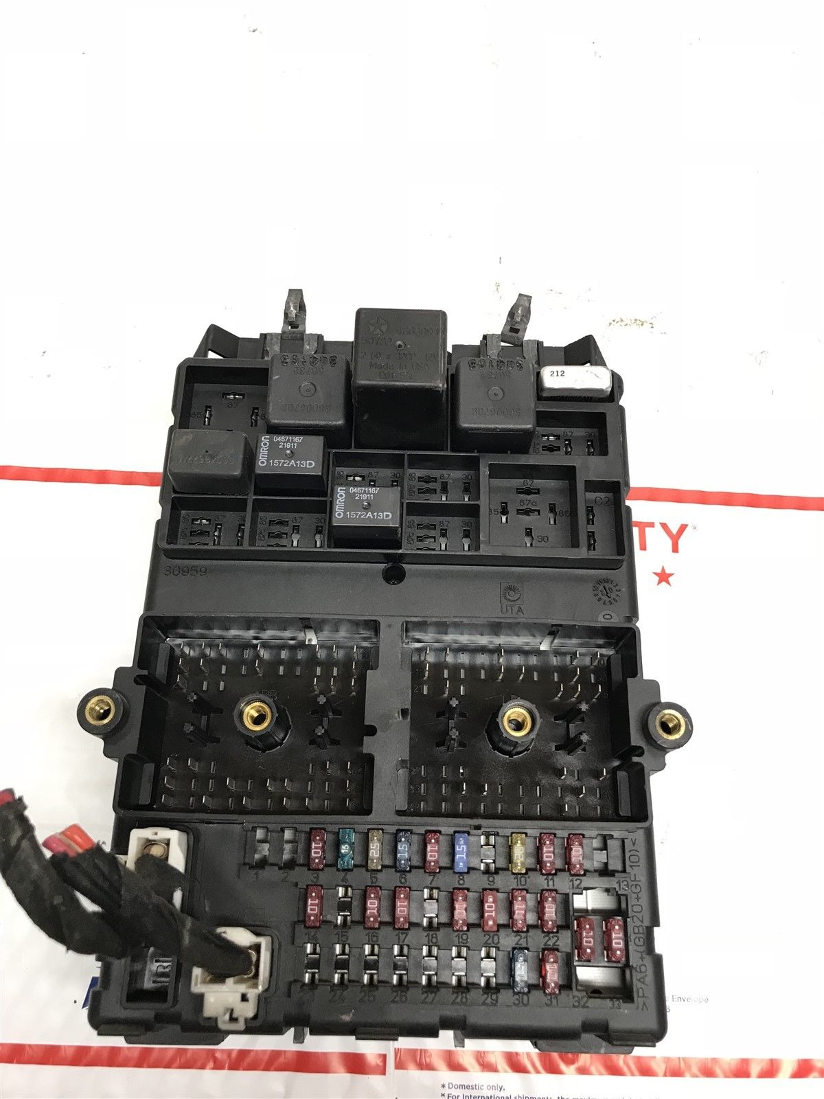 2003 Jeep Grand Cherokee Body Control Module Fuse Box BCM BCU OEM  56050231AC Does not apply