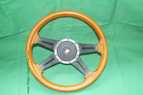 1976-89 Jaguar XJS LECARRA Wood Wooden Steering  Wheel 14