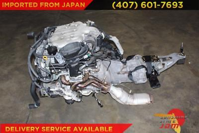 JDM NISSAN 350Z G35 ENGINE 6 SPD MANUAL TRANS WIRE ECU VQ35 3 5L TOMEI  HEADERS
