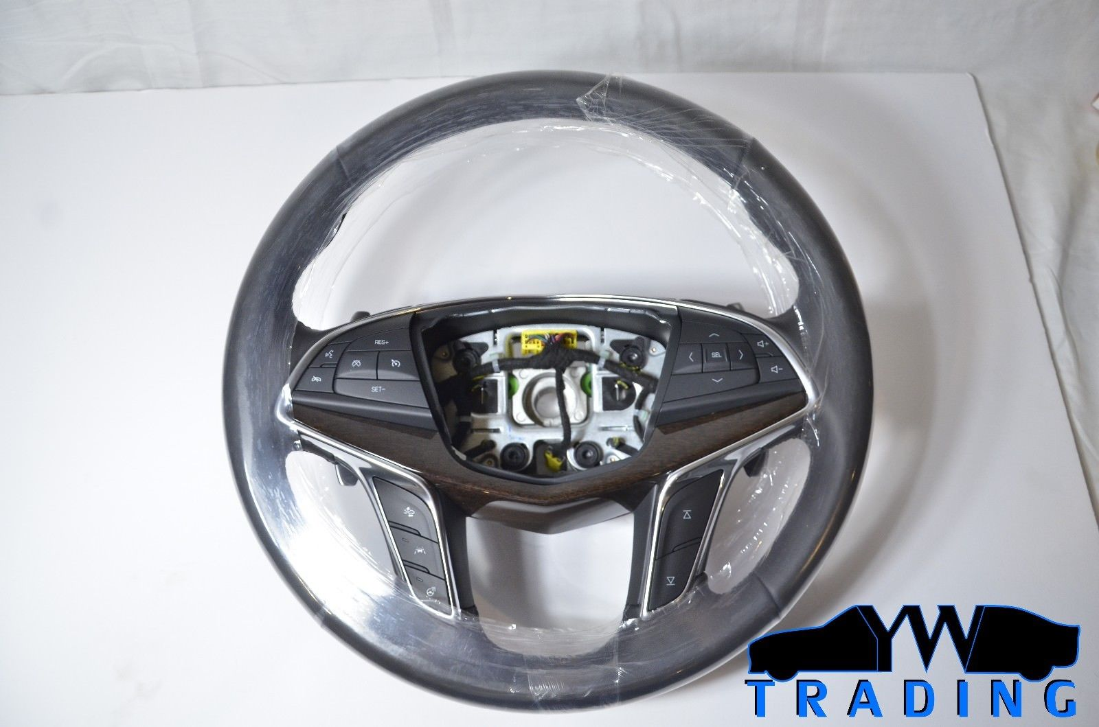 2016 - 2017 CADILLAC CT6 NEW OEM STEERING WHEEL W/ PADDLE SHIFTERS - 84016902