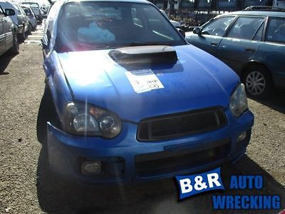05 OUTBACK IMPREZA POWER BRAKE BOOSTER WRX EXC. STI MT 8863329 8863329