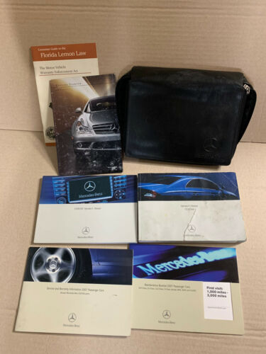 2007 07 MERCEDES CLS CLASS 550 63AMG OWNERS MANUAL with case
