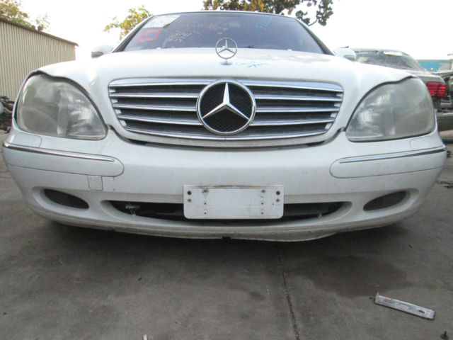 Mercedes benz w220 s430 s500 front bumper cover 2000 01 02 for 2000 mercedes benz s500 parts