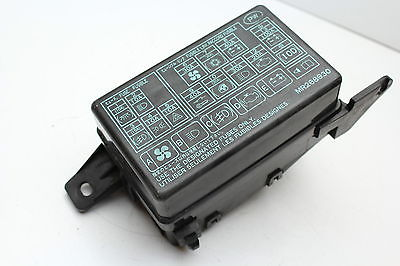 02 mitsubishi montero sport mr268930 fusebox fuse box relay unit module  k9696 mr268930 k9696