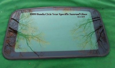 1999 <em>HONDA</em> <em>CIVIC</em> 4 DOOR YEAR SPECIFIC SUNROOF GLASS  OEM FREE SHIPPING!