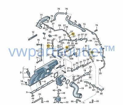 VOLKSWAGEN GENUINE OEM 5C6898515 SEAT BOLTS - REPAIR KIT