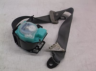 NS602314 2009 TOYOTA COROLLA REAR RIGHT RR SEAT BELT RETRACTOR GREY  OEM TOYOTA COROLLA J082501