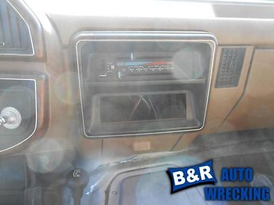 TEMPERATURE CONTROL W/AC FACTORY INSTALLED FITS 88-89 BRONCO 4306685