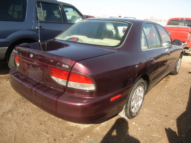 98 Mitsubishi Galant Left Rear Sill Plate Trim Panel 1998
