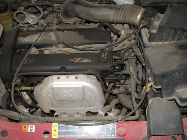 2001 ford focus brake booster location