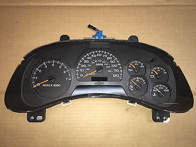 2004 chevy instrument cluster