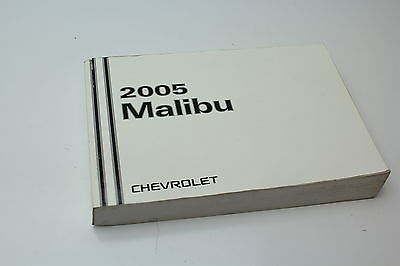 2005 chevy malibu manual