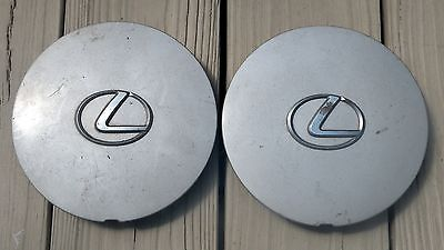 1990-1992 Lexus LS400 ES250 42603-32140 Two Center Caps 7912 FREE SHIPPING!