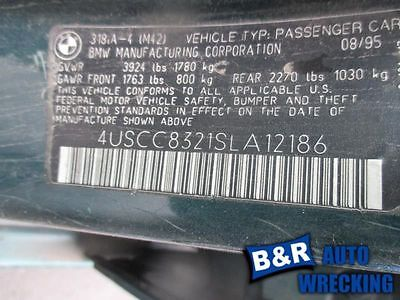 94 95 BMW 318I POWER STEERING PUMP FROM 1/94 9230701 553-56889 9230701