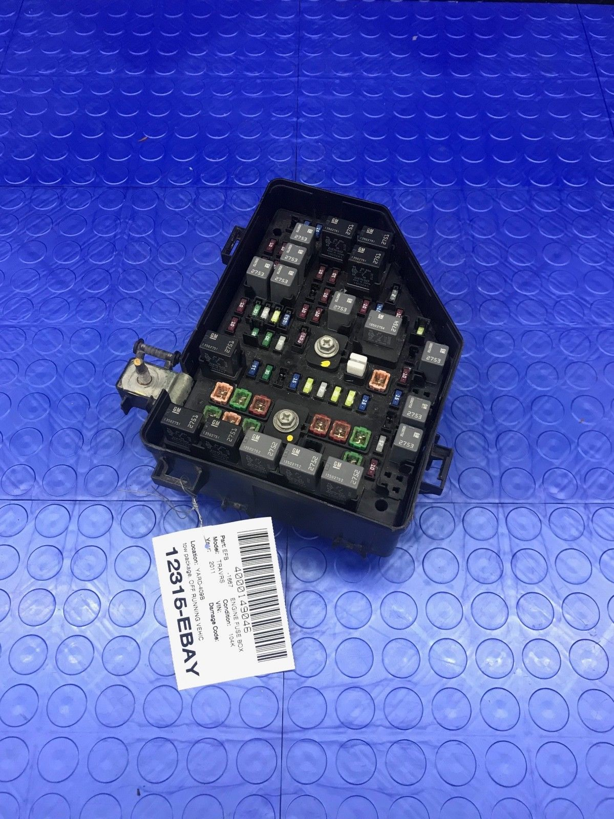 Fuse Block Box Page 9 Gm Oe Traverse Outlook Wire Wiring Junction Emfuse Em