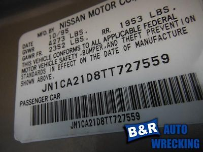 95 96 97 98 99 00 01 02 03 NISSAN MAXIMA POWER STEERING PUMP 8701634 8701634