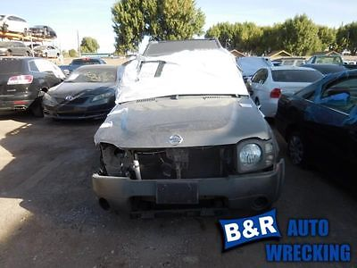 04 NISSAN XTERRA AUTOMATIC TRANSMISSION 6 CYL W/O SUPERCHARGED OPTION 4X2 400-61689 8931275