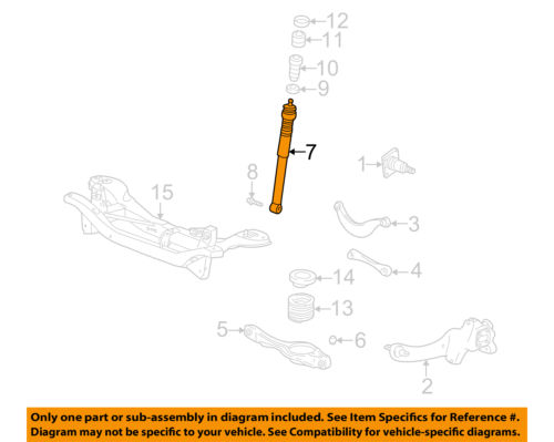 2007 Ford Focus Rear Suspension Diagram