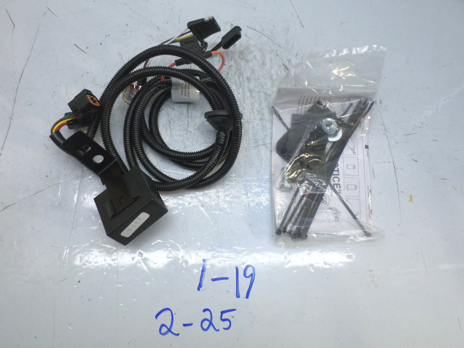 NEW OEM TRAILER HITCH WIRING HARNESS KIA SORENTO 03 04 05 06 UB030 ...