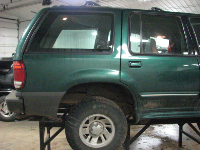 2000 ford explorer rear door window regulator manual left