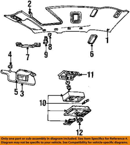 Lincoln FORD OEM 92-99 Town Car Moonroof-Switch F7VZ15B691BA ... on lincoln town car starter relay location, lincoln town car fuel pump relay, buick lacrosse wiring diagram, ford aerostar wiring diagram, ford econoline van wiring diagram, 1990 lincoln town car engine diagram, lincoln town car belt diagram, chevelle wiring diagram, chevrolet volt wiring diagram, 1998 lincoln town car engine diagram, lincoln town car fuse diagram, 1997 lincoln town car engine diagram, lincoln town car lights, pontiac trans sport wiring diagram, lincoln town car door, mercury milan wiring diagram, dodge challenger wiring diagram, chrysler 300m wiring diagram, hyundai veracruz wiring diagram, lincoln town car engine swap,