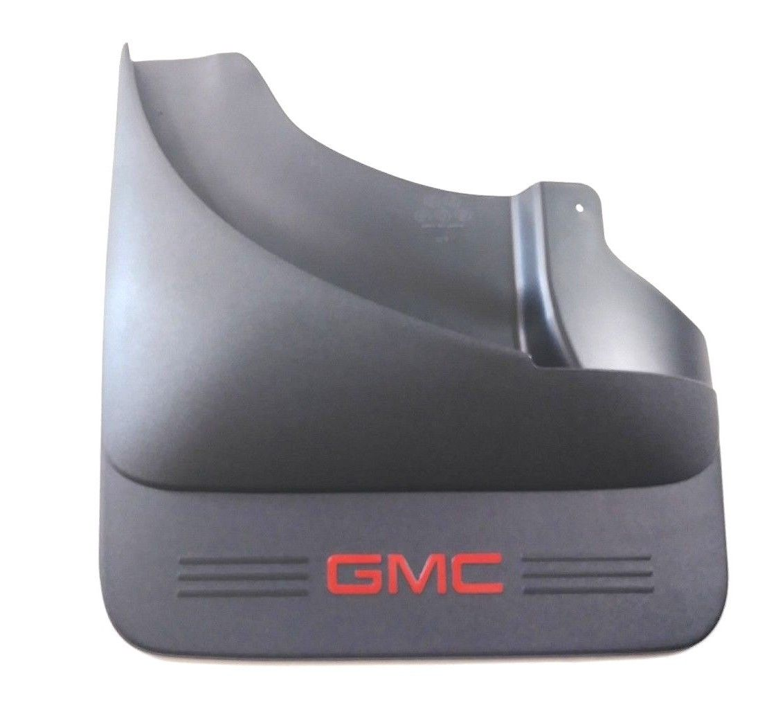 OEM GMC Sierra 3500 HD Mud Flaps Rear Dually 07-14 GENUINE 19155525 19155525
