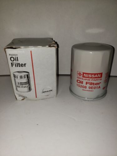 Genuine Nissan OEM Oil FIlter 15208-9E01A - Qty 3 Does not apply