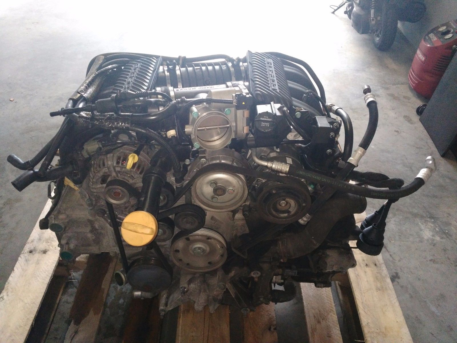 99-01 PORSCHE 996 CARRERA 3.4L COMPLETE USED ENGINE 44,700 MILES UPGRADED IMS