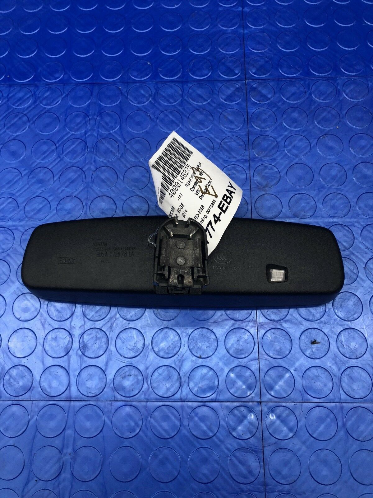 OE Ford Edge GNTX Part 931 Auto Dimming Interior Rearview Mirror BU5A-17E678-LA Does not apply