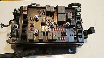 2005 gmc envoy denali fuse box block relay panel used oem. Black Bedroom Furniture Sets. Home Design Ideas