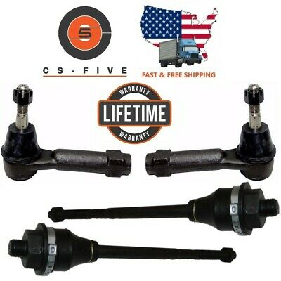 LIFETIME Warranty Front Steering Rebuild INNER OUTER TIE ROD END CHEVROLET GMC ES3493 ES3488