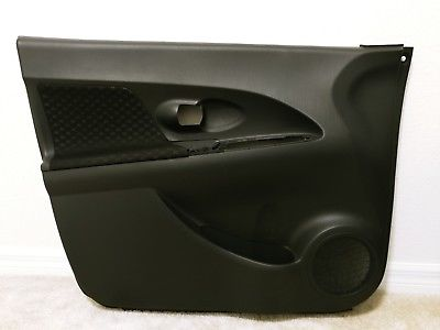 2013 Scion XD Interior Door Trim Panel left front driver black Fits 2008 - 2014 Does Not Apply