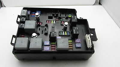 12 13 chevrolet sonic 95315649 fusebox fuse box relay unit. Black Bedroom Furniture Sets. Home Design Ideas