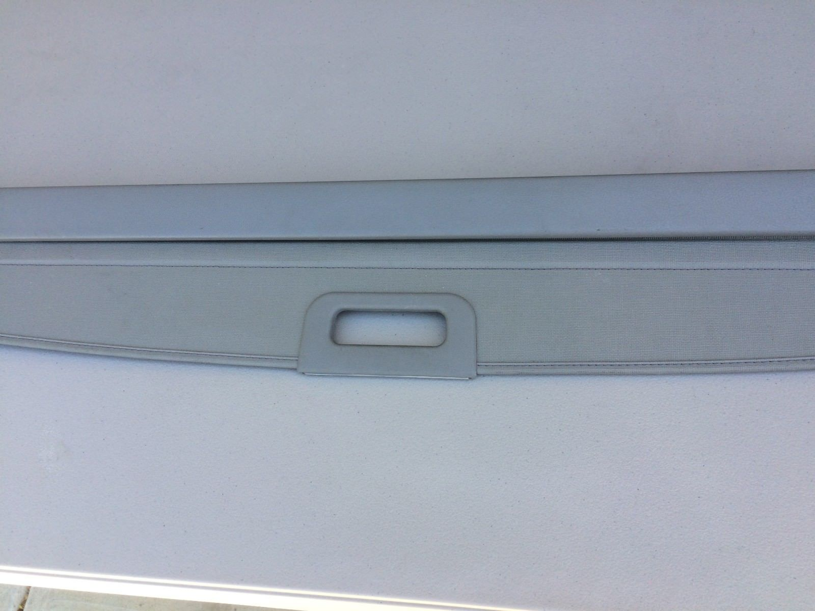 1998-2002 Subaru Forester Rear Retractable Cargo Cover Privacy Shade GREY Does not apply