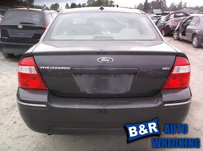 05 06 07 FIVE HUNDRED R. REAR DOOR GLASS TINTED 9161356 278-05600R 9161356