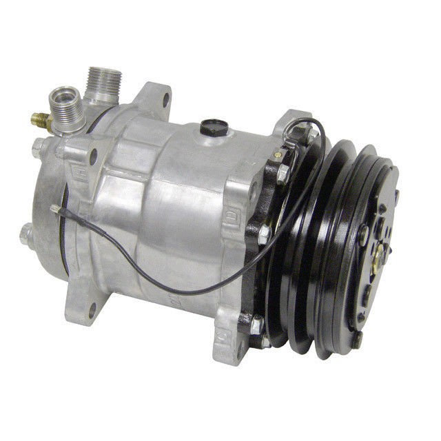 NEW SANDEN CLONE SD 508 DOUBLE PULLY AC COMPRESSOR AND CLUTCH 9285 10106 Colorado 9285C