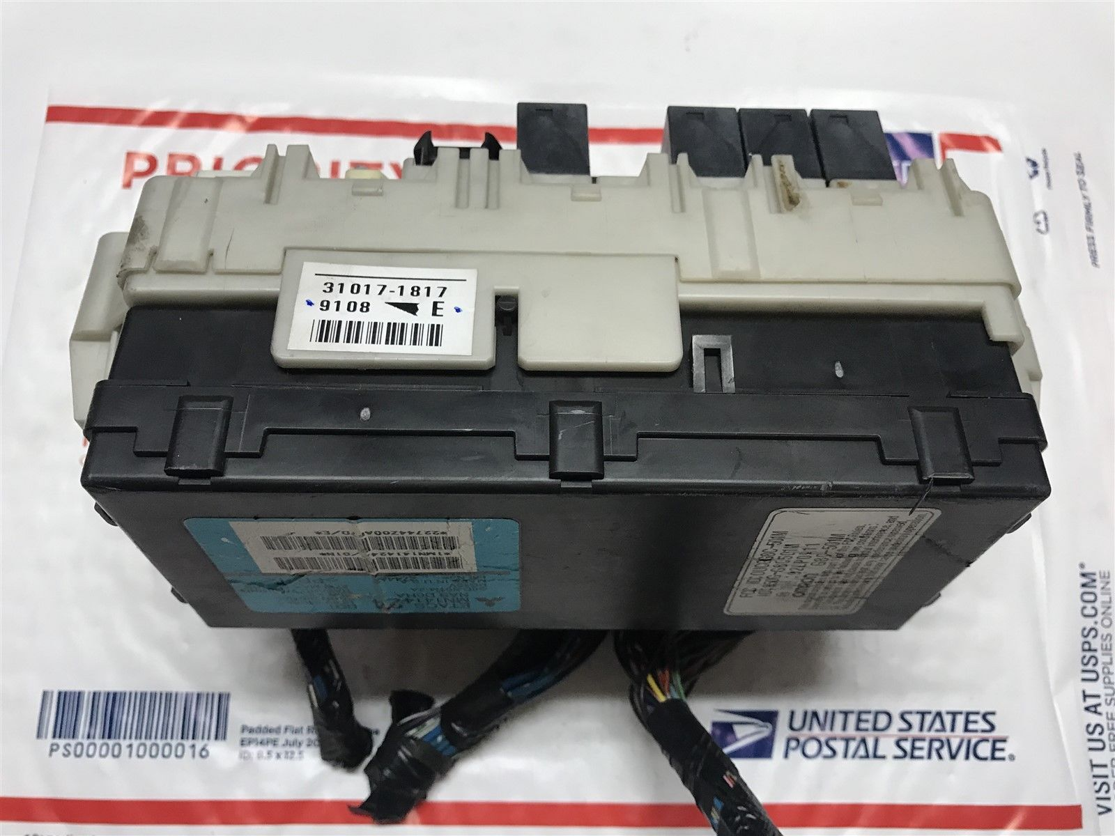 2004 2006 Mitsubishi Endeavor Etacs Body Control Module With Fuse Box Mn141424 Does Not Apply