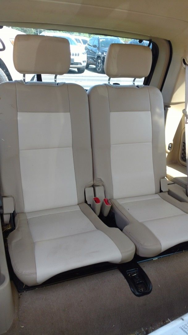 Ford Explorer 3rd Row Seats Tan Leather 2006, 2007, 2008, 2009, 2010 Eddie Bauer