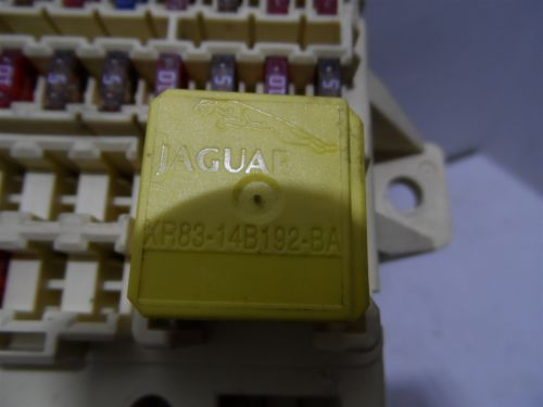 2000 jaguar s type fuse boxes jaguar s-type 2000-2002 fuse box front relay xr83-14b192 ... #11