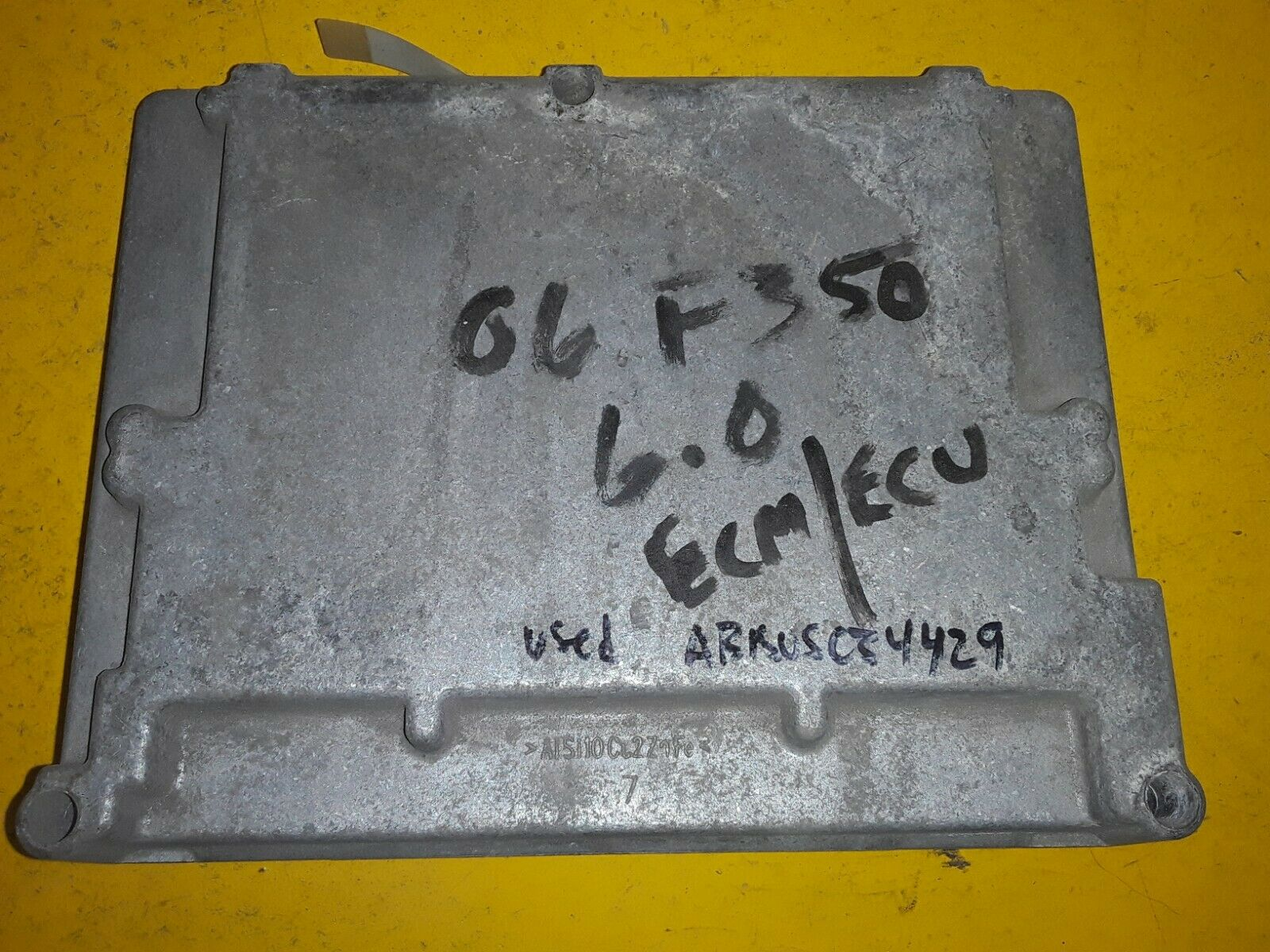 OEM FORD F250 F350 Computer ECM PCM 6.0l 6.0 Diesel  6C3A-12A650-BZA Does not apply
